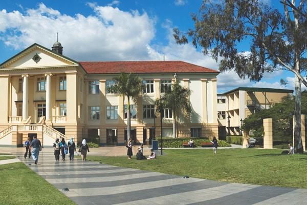 QUT university campus.