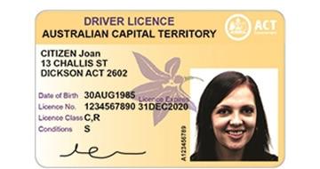 University document checklist item: Driver licence.