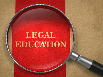 Legal education.